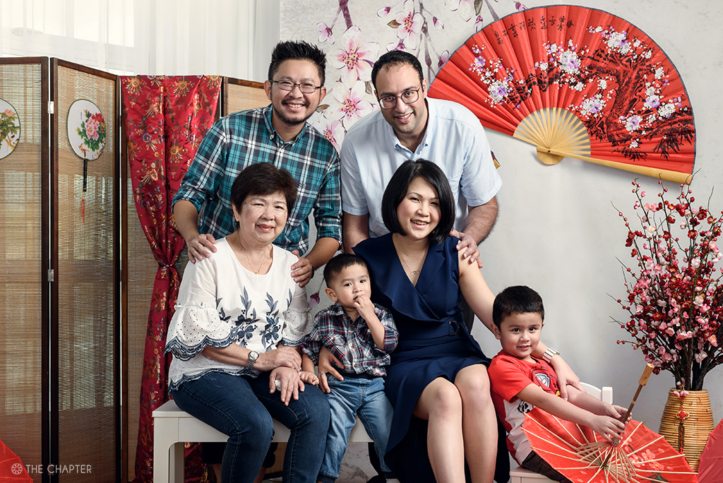 cny family portraits ipoh 2019, the chapter, family portraits ipoh malaysia, photographer ipoh